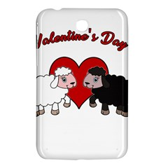 Valentines Day   Sheep  Samsung Galaxy Tab 3 (7 ) P3200 Hardshell Case  by Valentinaart