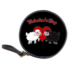 Valentines Day   Sheep  Classic 20 Cd Wallets by Valentinaart