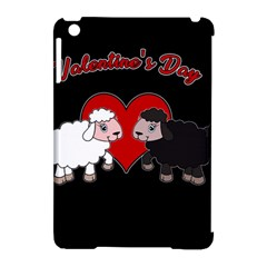 Valentines Day   Sheep  Apple Ipad Mini Hardshell Case (compatible With Smart Cover) by Valentinaart