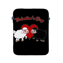 Valentines Day   Sheep  Apple Ipad 2/3/4 Protective Soft Cases by Valentinaart