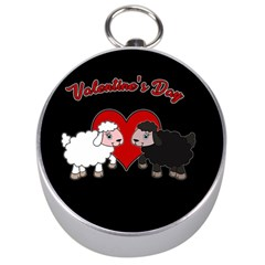 Valentines Day   Sheep  Silver Compasses by Valentinaart