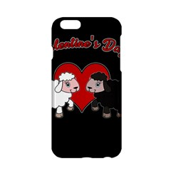 Valentines Day   Sheep  Apple Iphone 6/6s Hardshell Case by Valentinaart