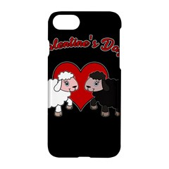 Valentines Day   Sheep  Apple Iphone 7 Hardshell Case by Valentinaart