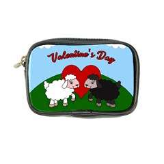 Valentines Day   Sheep  Coin Purse by Valentinaart