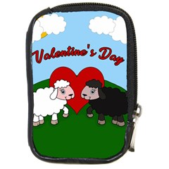 Valentines Day   Sheep  Compact Camera Cases by Valentinaart