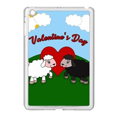Valentines Day   Sheep  Apple Ipad Mini Case (white) by Valentinaart
