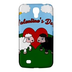 Valentines Day   Sheep  Samsung Galaxy Mega 6 3  I9200 Hardshell Case by Valentinaart