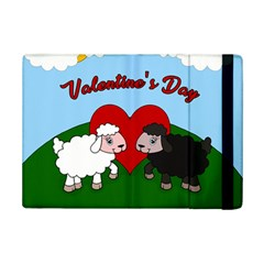 Valentines Day   Sheep  Ipad Mini 2 Flip Cases by Valentinaart