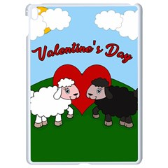 Valentines Day   Sheep  Apple Ipad Pro 9 7   White Seamless Case by Valentinaart