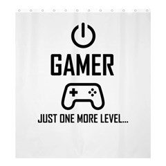 Gamer Shower Curtain 66  X 72  (large)  by Valentinaart