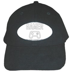 Gamer Black Cap by Valentinaart