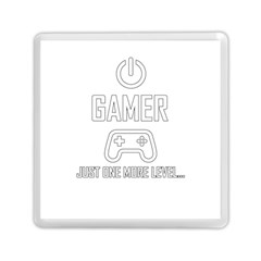 Gamer Memory Card Reader (square)  by Valentinaart