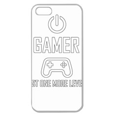 Gamer Apple Seamless Iphone 5 Case (clear)
