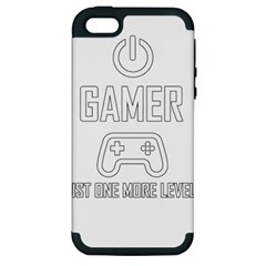Gamer Apple Iphone 5 Hardshell Case (pc+silicone) by Valentinaart