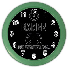 Gamer Color Wall Clocks by Valentinaart