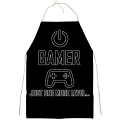 Gamer Full Print Aprons by Valentinaart