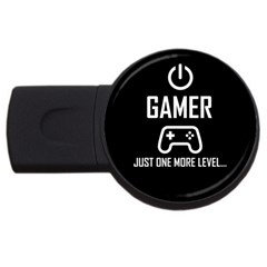Gamer Usb Flash Drive Round (2 Gb) by Valentinaart