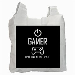 Gamer Recycle Bag (one Side) by Valentinaart