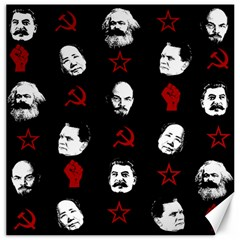 Communist Leaders Canvas 16  X 16   by Valentinaart