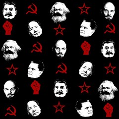 Communist Leaders Magic Photo Cubes by Valentinaart