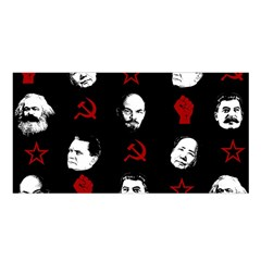 Communist Leaders Satin Shawl by Valentinaart