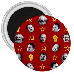 Communist Leaders 3  Magnets by Valentinaart
