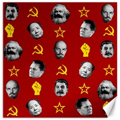 Communist Leaders Canvas 16  X 16