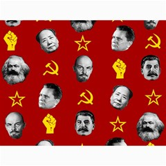 Communist Leaders Canvas 18  X 24   by Valentinaart