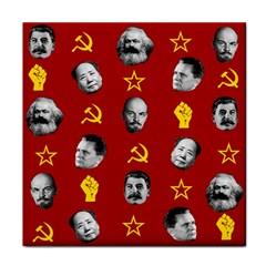 Communist Leaders Face Towel by Valentinaart