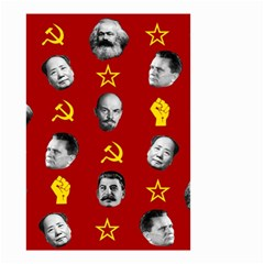 Communist Leaders Small Garden Flag (two Sides) by Valentinaart