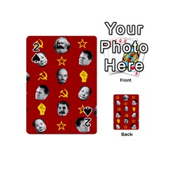Communist Leaders Playing Cards 54 (mini)  by Valentinaart