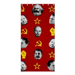 Communist Leaders Shower Curtain 36  X 72  (stall)  by Valentinaart