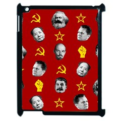 Communist Leaders Apple Ipad 2 Case (black) by Valentinaart