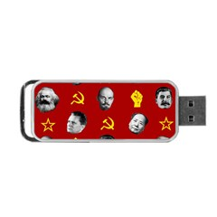 Communist Leaders Portable Usb Flash (two Sides) by Valentinaart