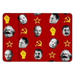 Communist Leaders Samsung Galaxy Tab 8 9  P7300 Flip Case by Valentinaart