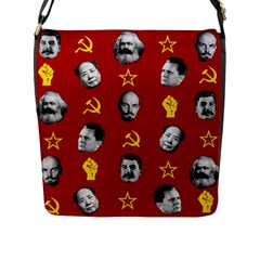 Communist Leaders Flap Messenger Bag (l)