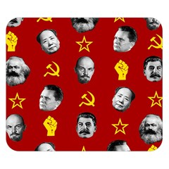 Communist Leaders Double Sided Flano Blanket (small)  by Valentinaart