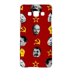 Communist Leaders Samsung Galaxy A5 Hardshell Case  by Valentinaart