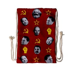 Communist Leaders Drawstring Bag (small) by Valentinaart