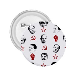 Communist Leaders 2 25  Buttons by Valentinaart