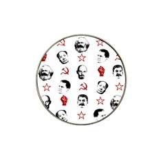 Communist Leaders Hat Clip Ball Marker (10 Pack) by Valentinaart
