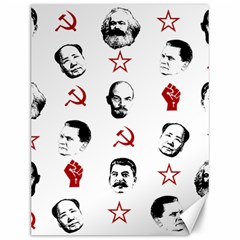 Communist Leaders Canvas 12  X 16   by Valentinaart