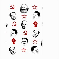 Communist Leaders Large Garden Flag (two Sides) by Valentinaart
