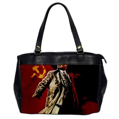 Lenin  Office Handbags by Valentinaart