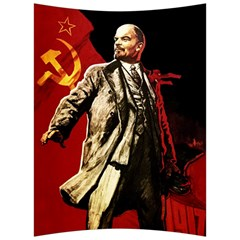 Lenin  Back Support Cushion by Valentinaart