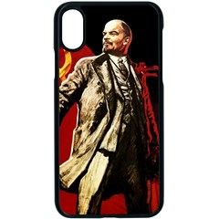 Lenin  Apple Iphone X Seamless Case (black)