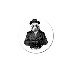 Rorschach Panda Golf Ball Marker by jumpercat