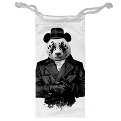Rorschach Panda Jewelry Bag by jumpercat