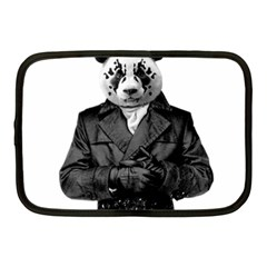 Rorschach Panda Netbook Case (medium)  by jumpercat