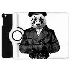 Rorschach Panda Apple Ipad Mini Flip 360 Case by jumpercat